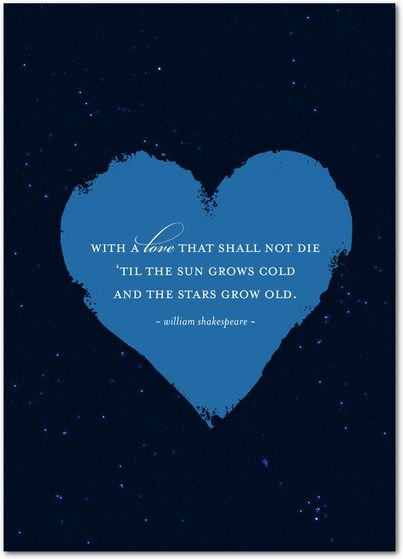Timeless Love Quotes Beauteous Timeless Words  Anniversary Greeting Cards In Midnight  Romance