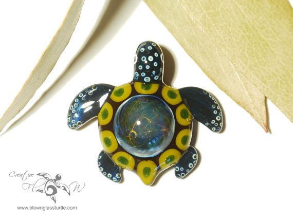 Mandala turtle turtle pendant universe filament handmade mandala turtle turtle pendant universe filament handmade blown glass one of a kind jewelry made with pure silver mozeypictures Images