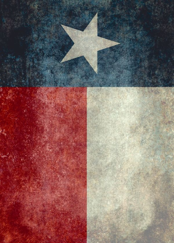 The Texas Flag Is Known As The Lone Star State Art On Metal