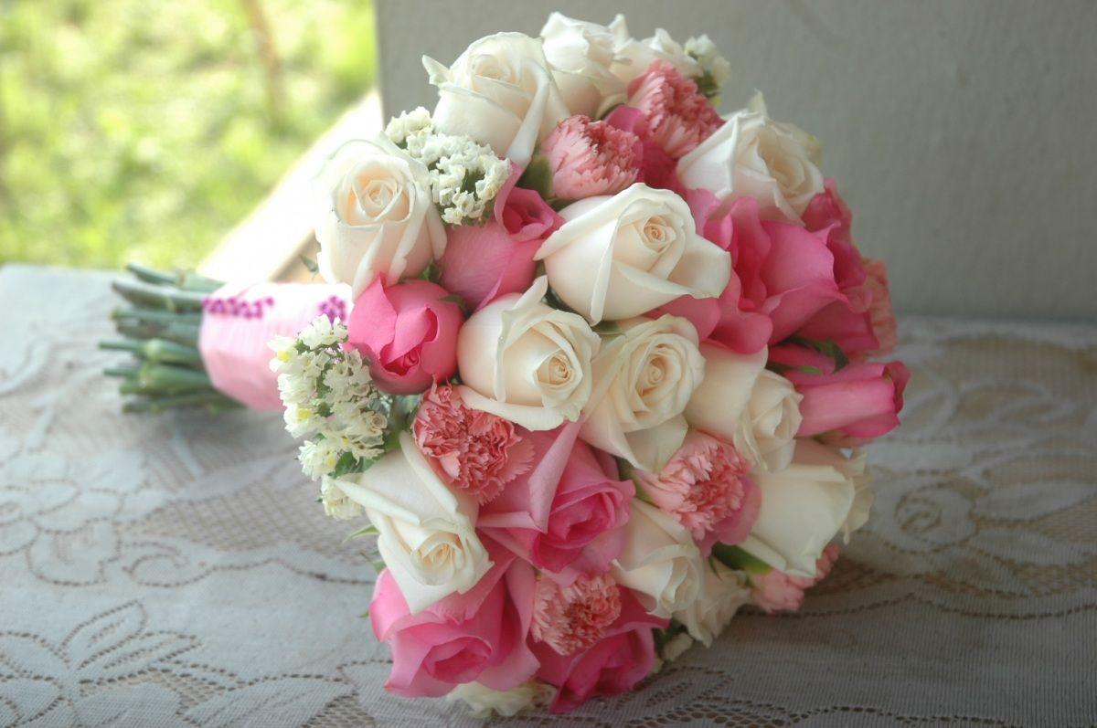 Bunga tangan cream hand bouquet wedding and wedding bunga tangan soft pink and cream izmirmasajfo