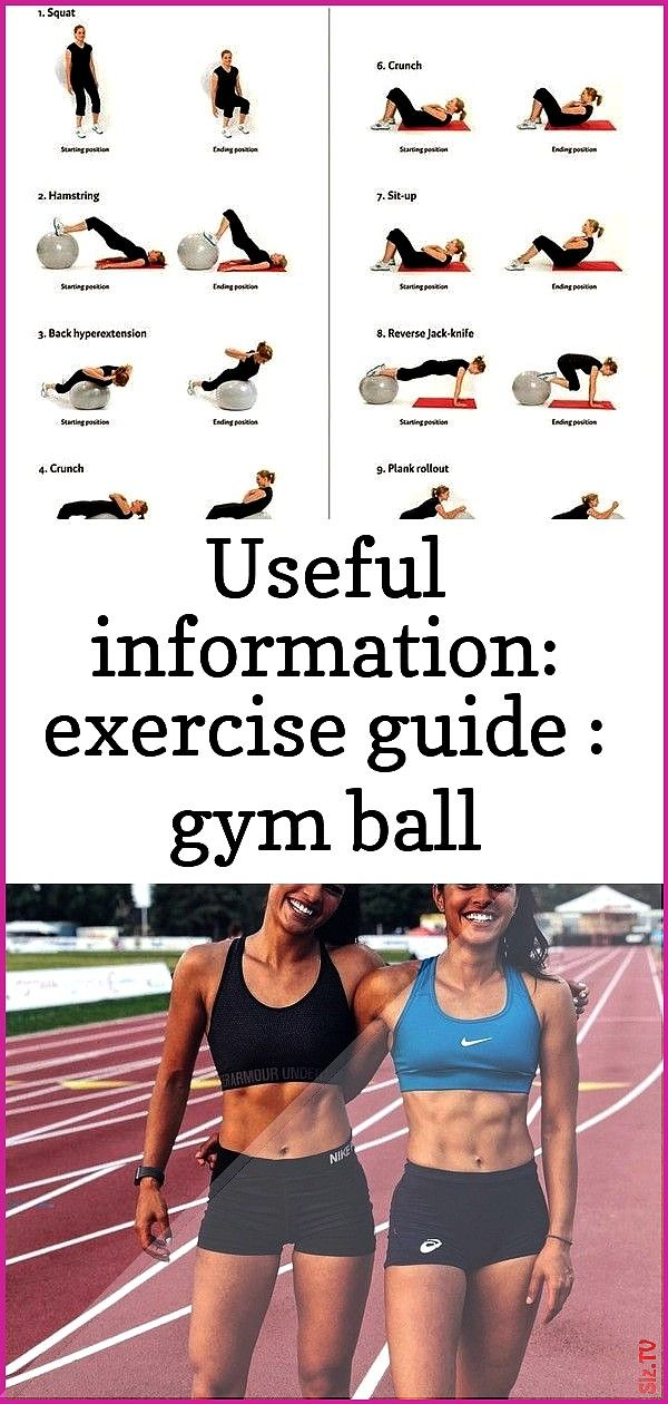 information exercise guide gym ball exercises for women 1 Useful information exercise guide gym ball exercises for women 1 John Cole jcole4113 Fitness Useful Information...