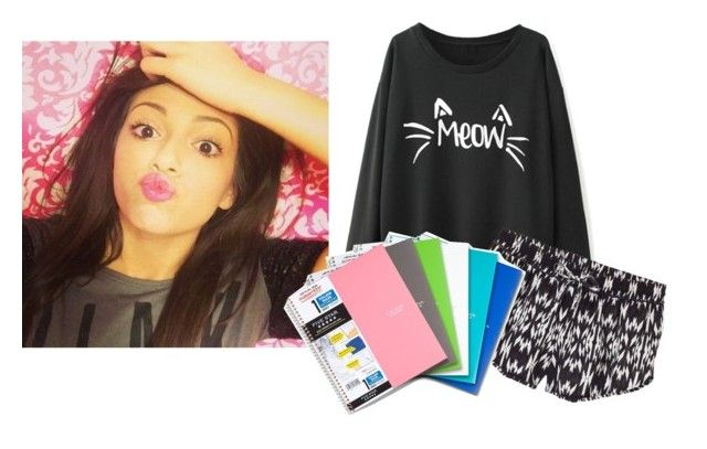 """""""Ugh. This school work is killing me!! ~ Beth"""" by hannahr-hatfield ❤ liked on Polyvore"""