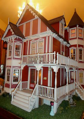 "Dollhouse House of Broel by Artist Bonnie Broel ""House of All Seasons"" 