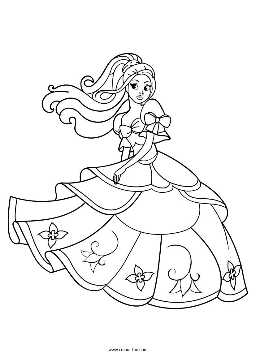 Free Pdf Downloads With A Single Click Click On The Image To Go To The Download Page Princess Coloring Pages Disney Princess Coloring Pages Princess Coloring