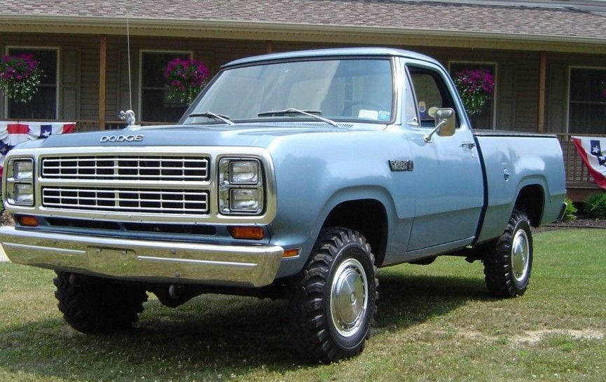 1979 dodge power wagon as new barn finds dodge power. Black Bedroom Furniture Sets. Home Design Ideas