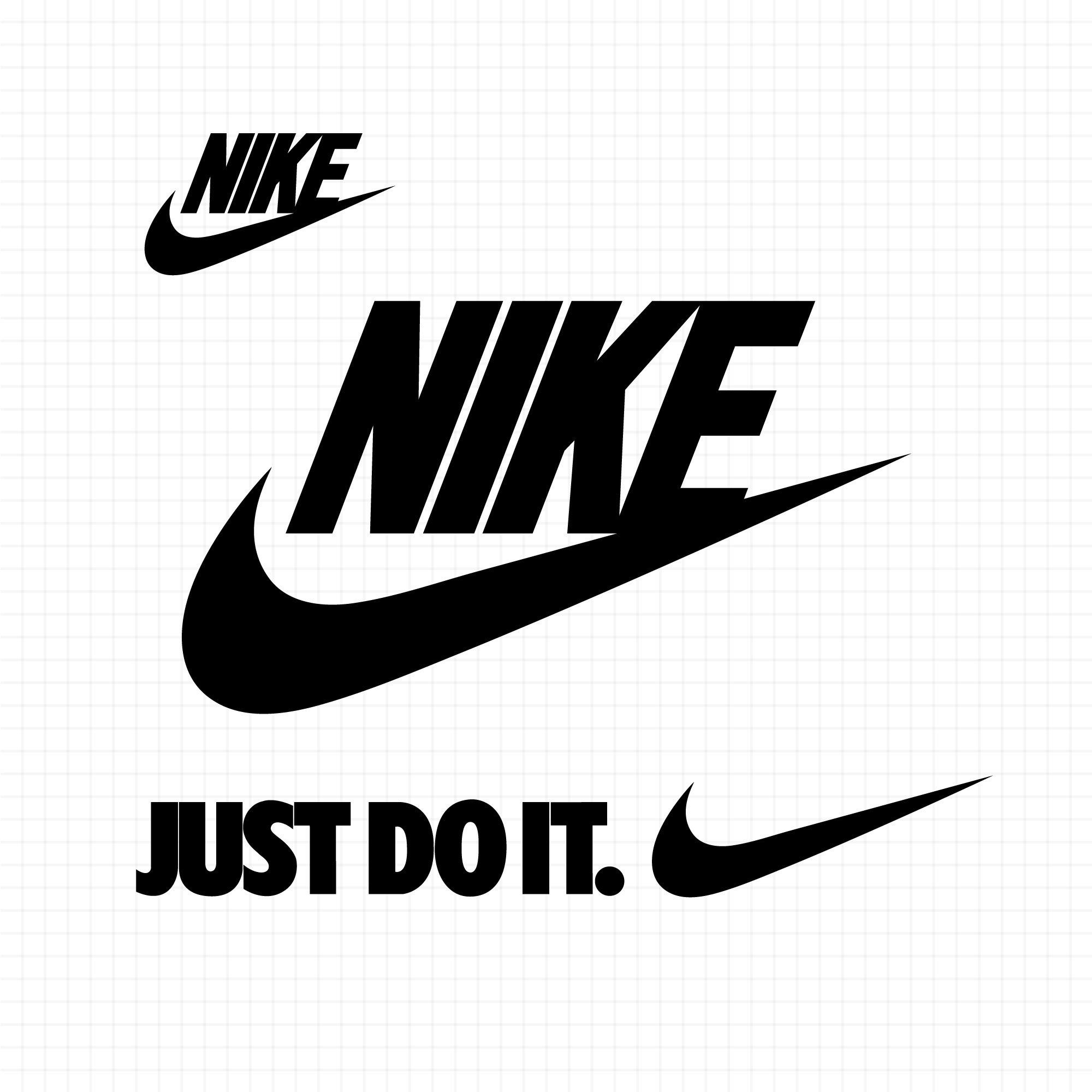 Nike Logo SVG Just Do It Logo SVG Nike SVG Just do it svg