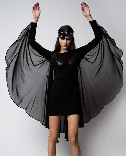 81f05e35c2df bat wing dress but not halloweeny