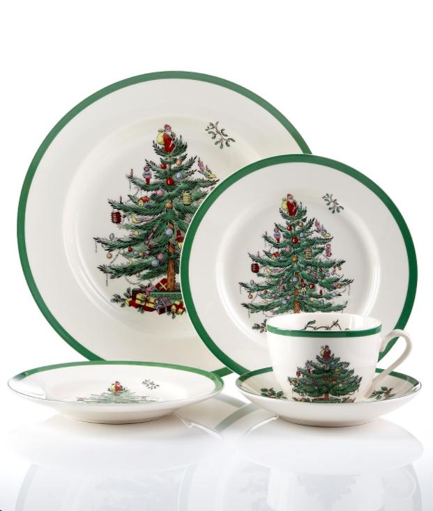 Spode Christmas Tree Dinnerware  sc 1 st  Pinterest & The Daily Hunt | Spode christmas tree Christmas tree and Stocking ...