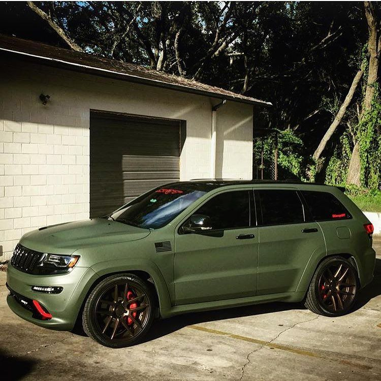 Love This Color Next Jeep In 2020 Jeep Grand Cherokee Srt
