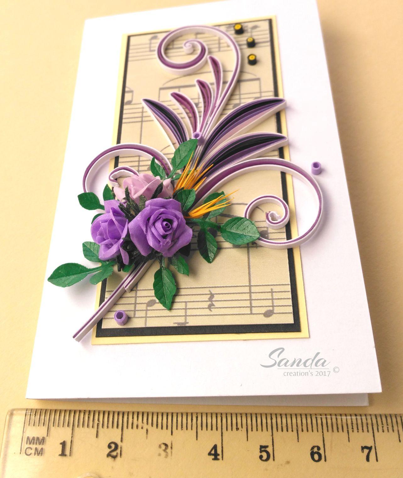 Квиллинг открытки новоселье, красивые валентинки