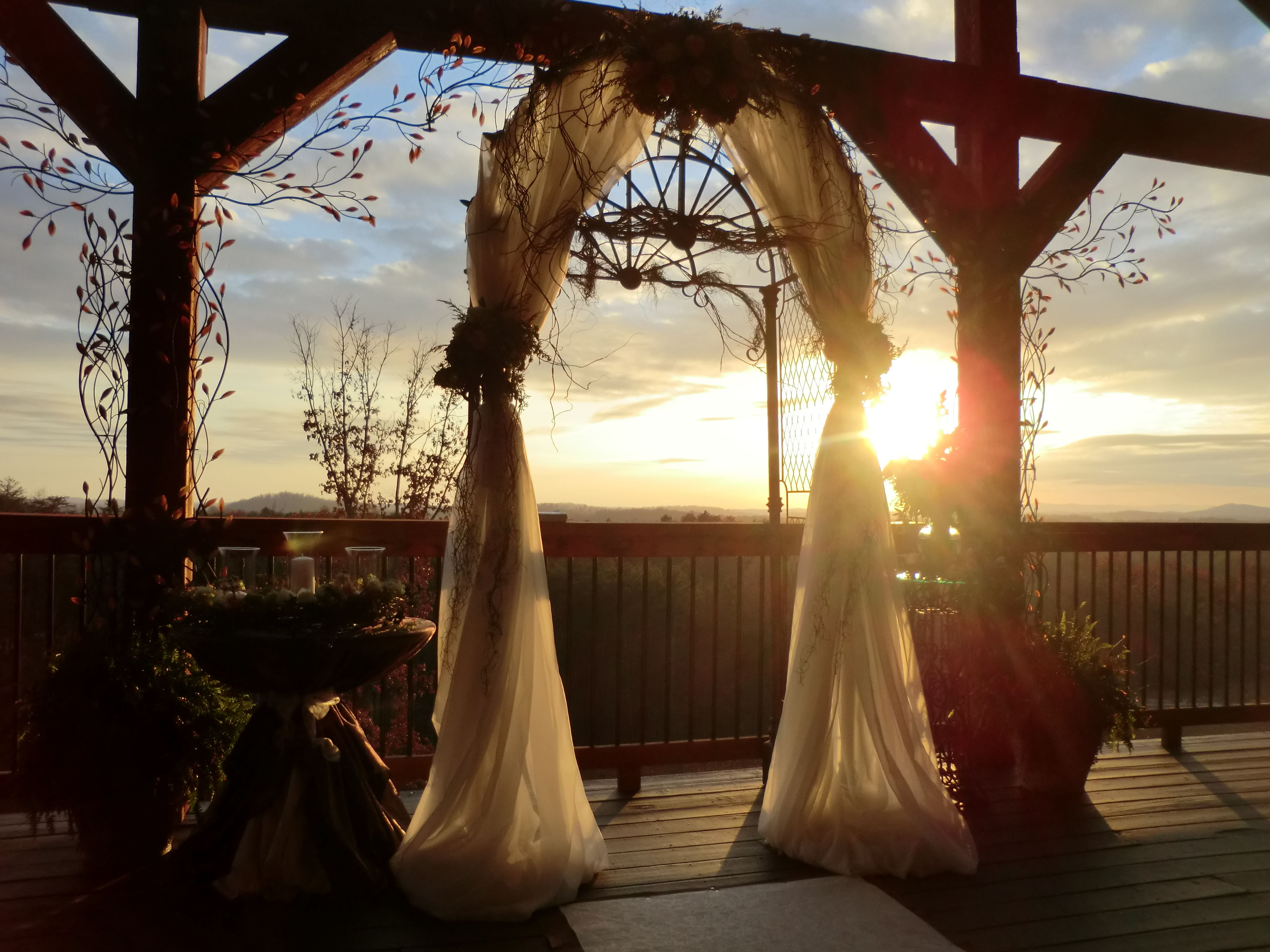 My cousin's wedding venueWolf Mountain Vineyard in