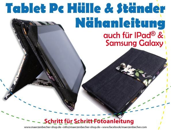 Nahanleitung Tablet Pc Hulle Tablet Tablet Hulle Nahen Ipad
