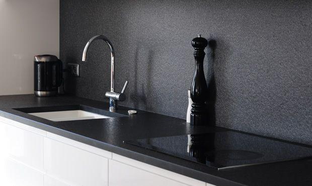 nero assoluto india ist ein sehr feink rniger rein schwarzer basalt seine dunkle farbgebung. Black Bedroom Furniture Sets. Home Design Ideas