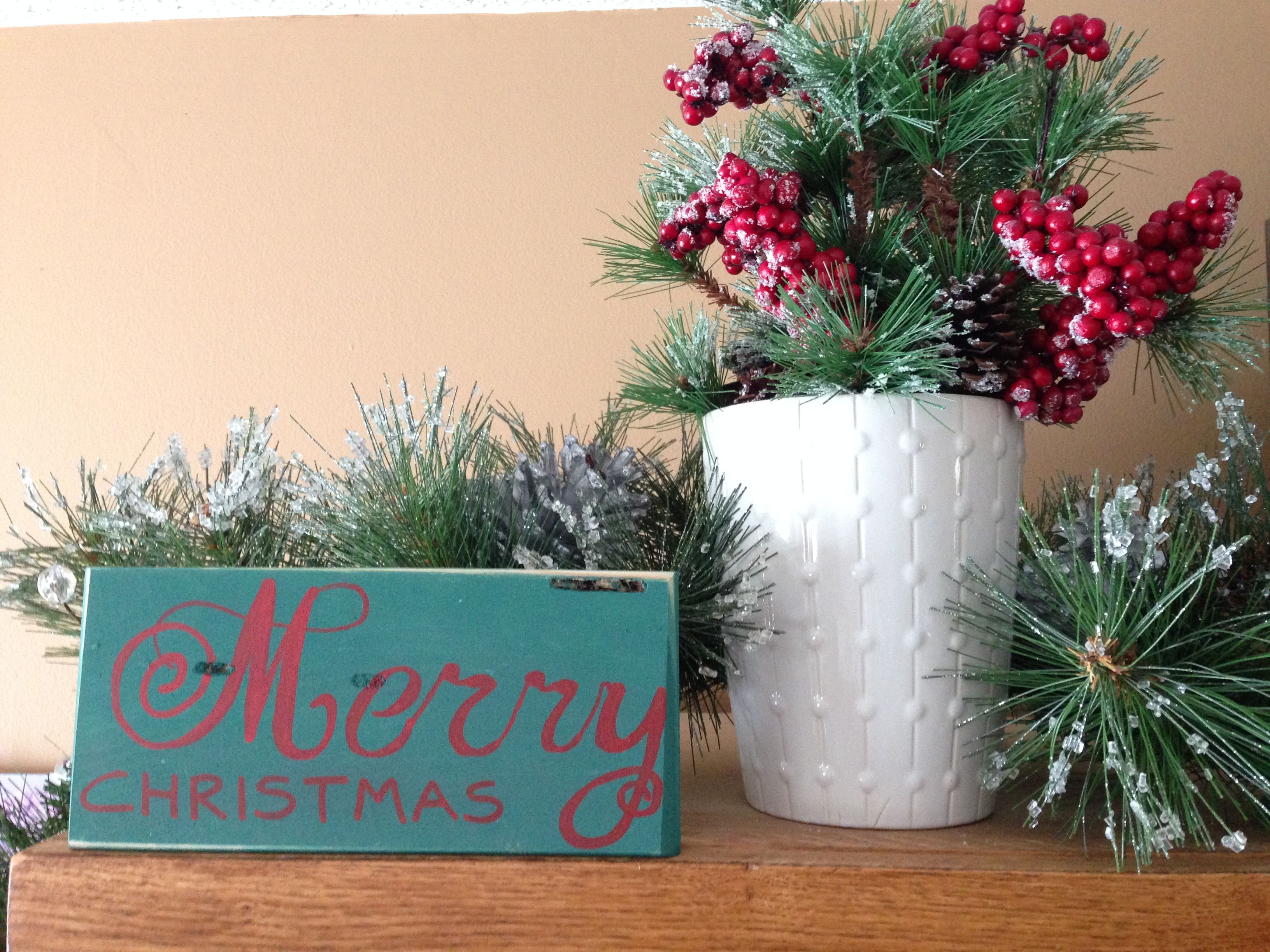 merry Christmas - wood art - home decor etsy.com.shop/ShareHisBlessings  Thanks for viewing my work! I can customize all my projects to fit your style. Let me know if you are looking for a certain color, size or phrase – I'd be happy to make it just for you! Stay Blessed..