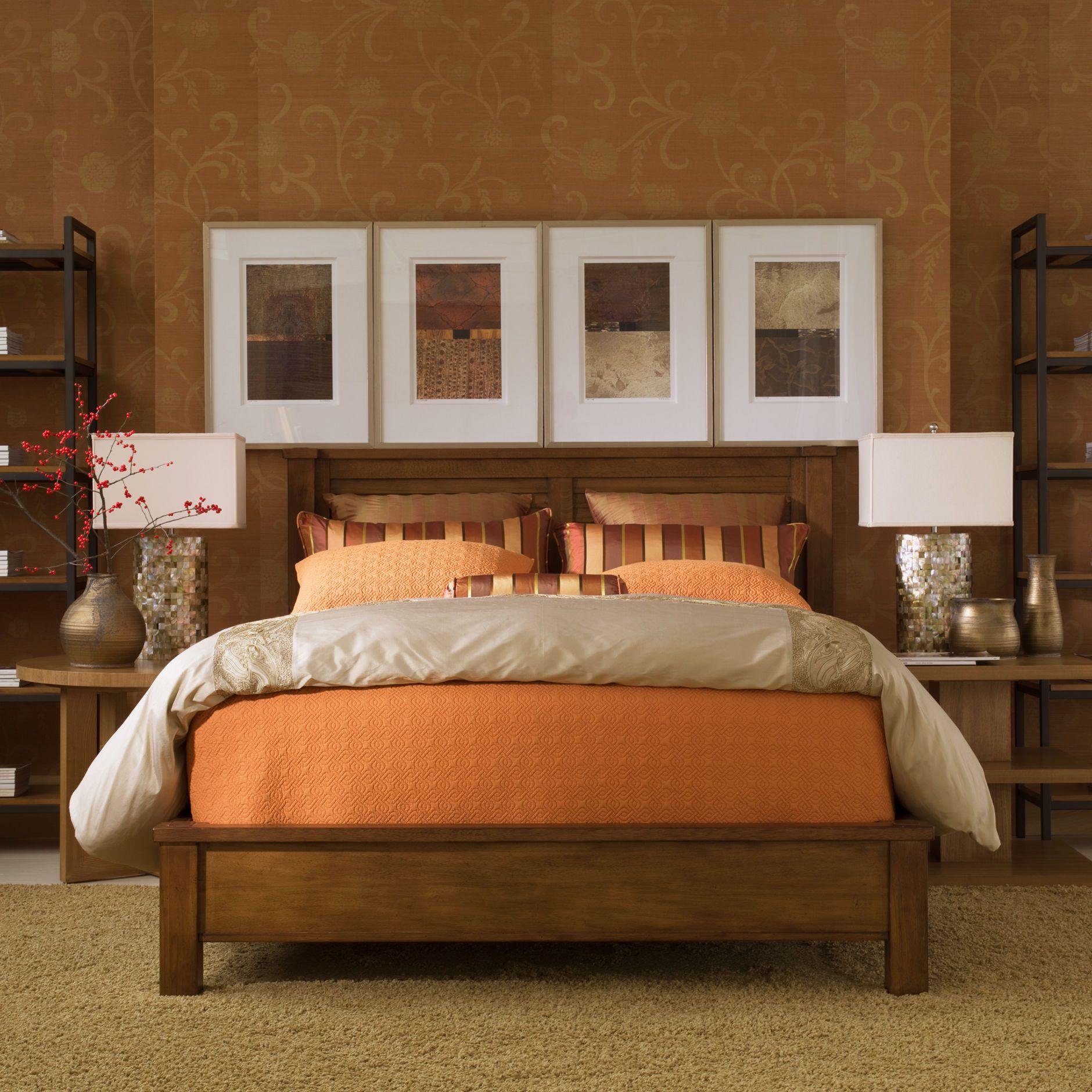 Drake Bed Ethan Allen US Bedroom furniture sets