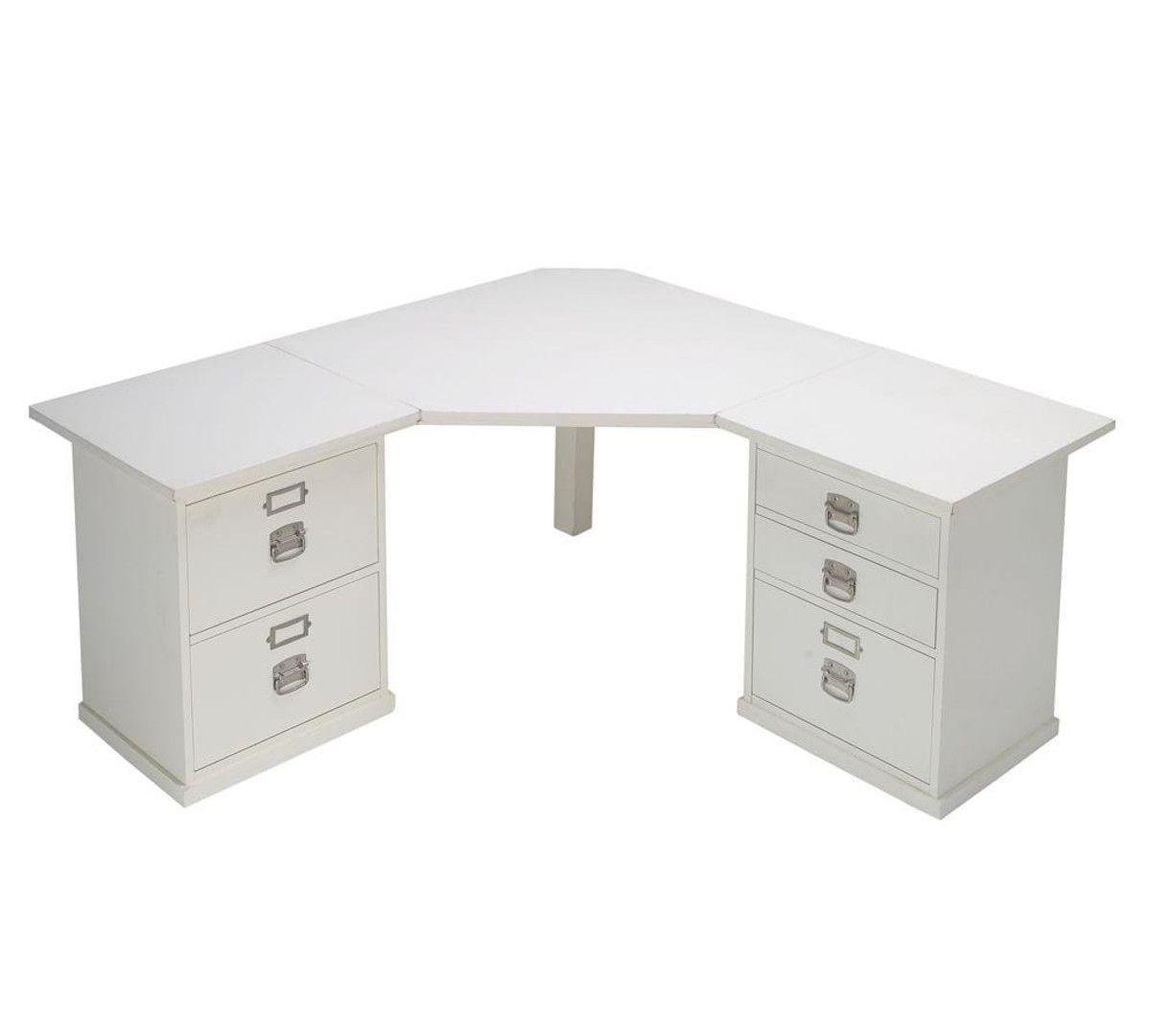 Antique White Corner Desk | Antique Furniture