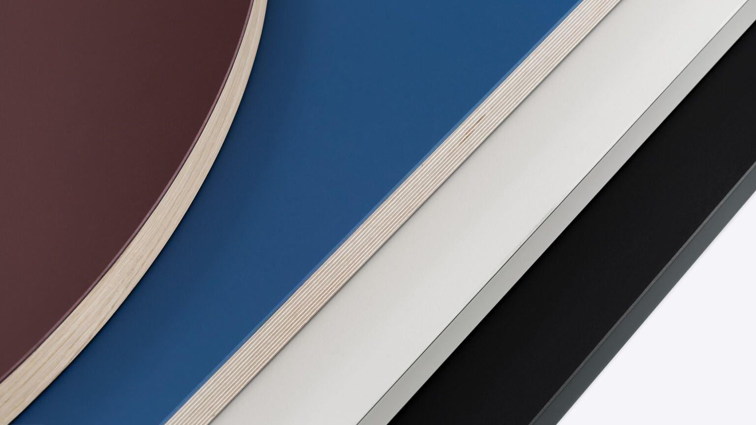 Linoleum Tischplatte Multiplex Massiv By Faust Linoleum Tische