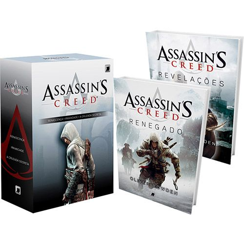 Kit Assassin's Creed (Box+Livros 4 e 5)