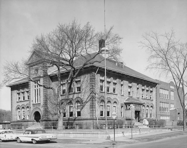 Samuel J. Tilden School, built in 1890 at Albany and Arona. http: