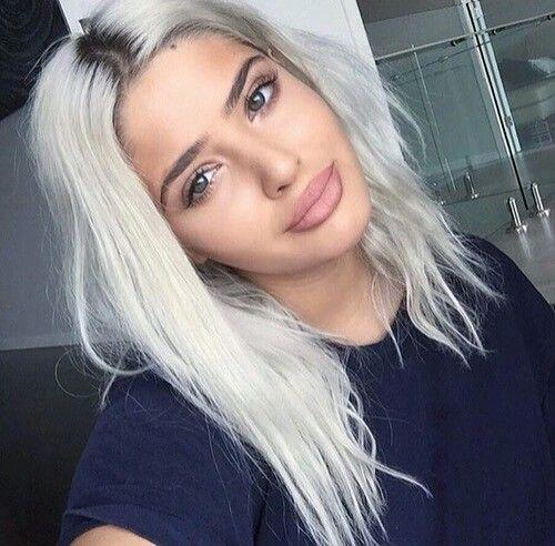 Blonde Whitehair White Hair Color Bleach Blonde Hair Platinum