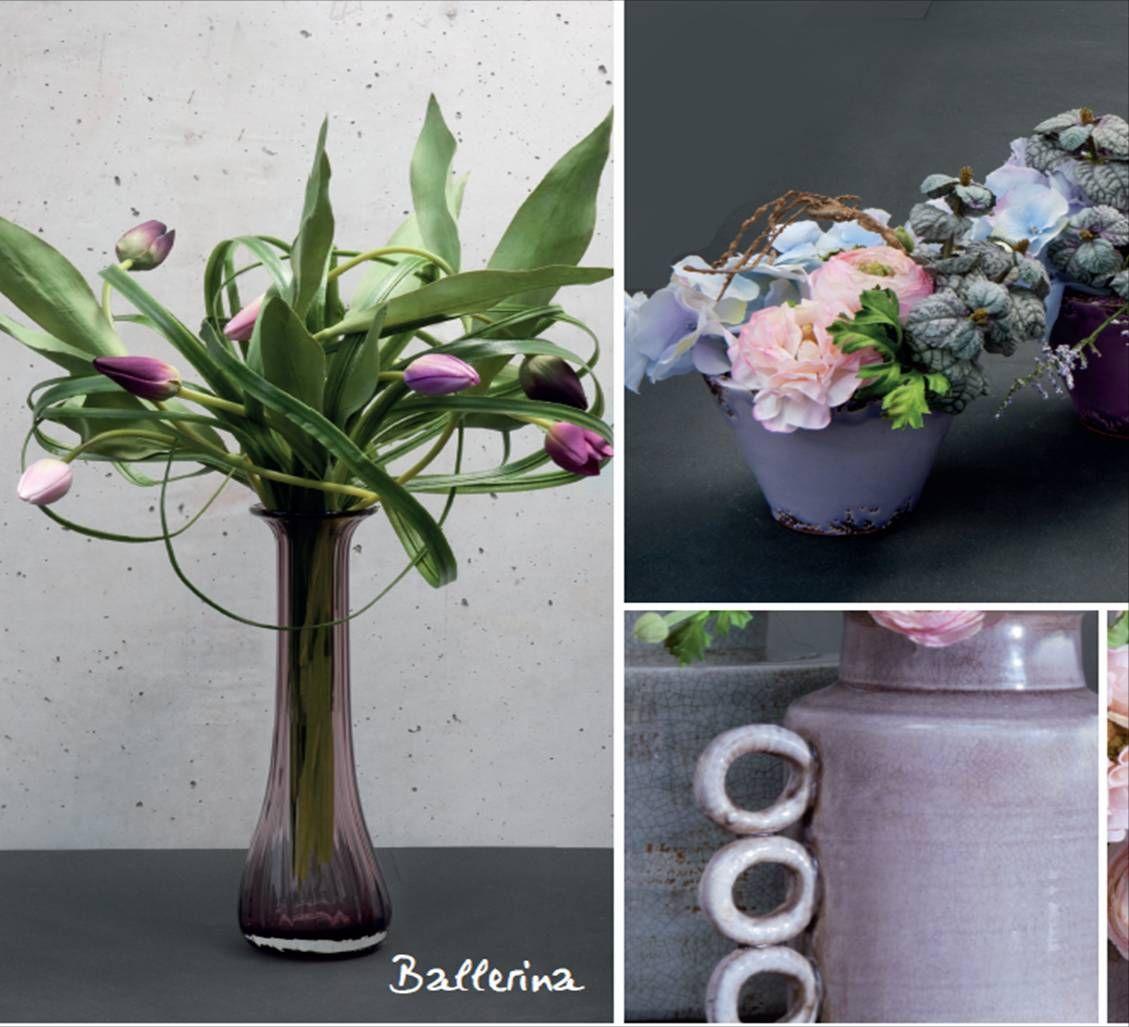 """Composición """"Ballerina"""" nombre perfecto por el movimiento de las hojas y los tulipanes"""