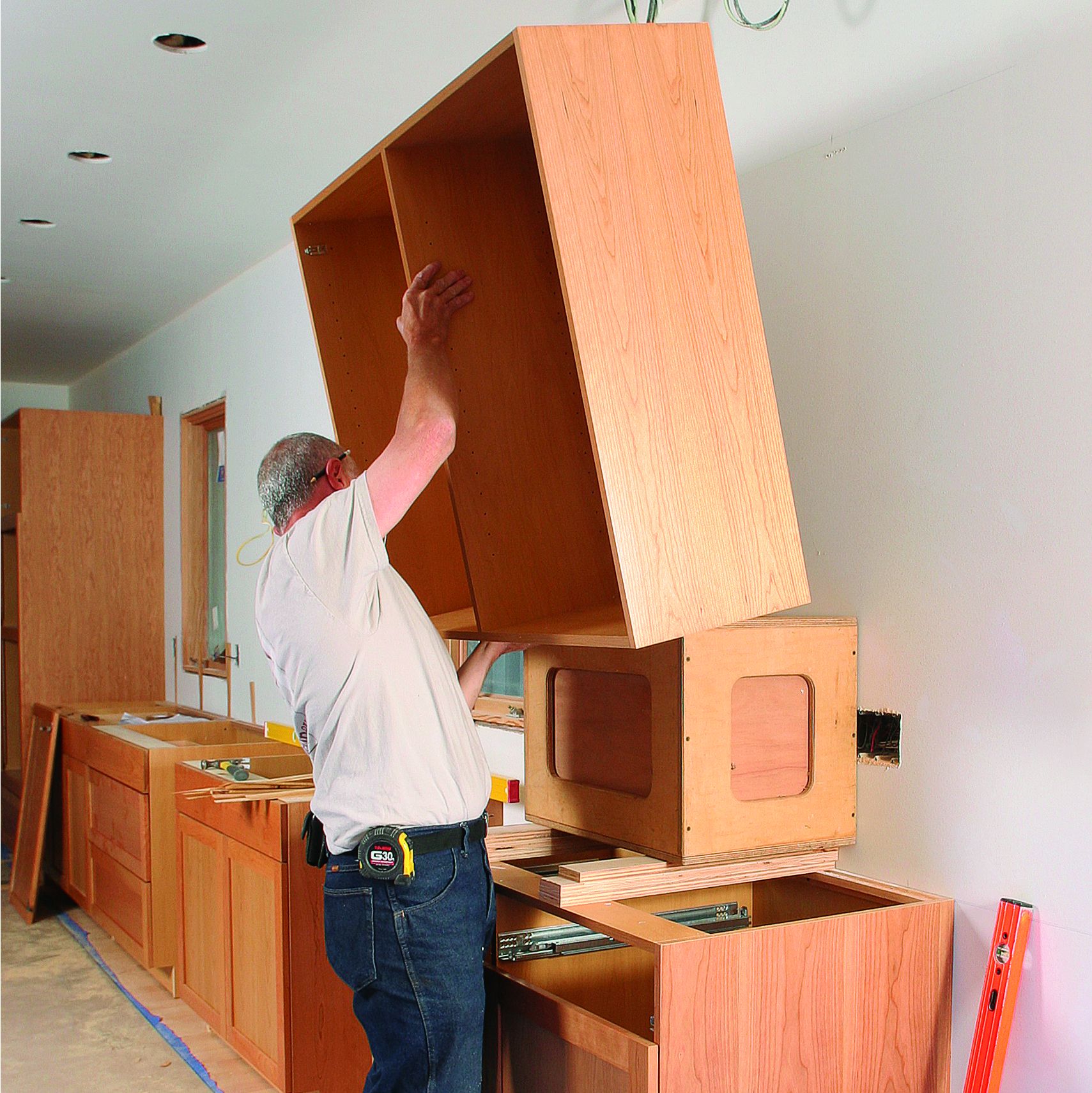 How To Build And Install Kitchen Cabinets Kitchen Cabinets Comfortable Kitchen Furniture Projects