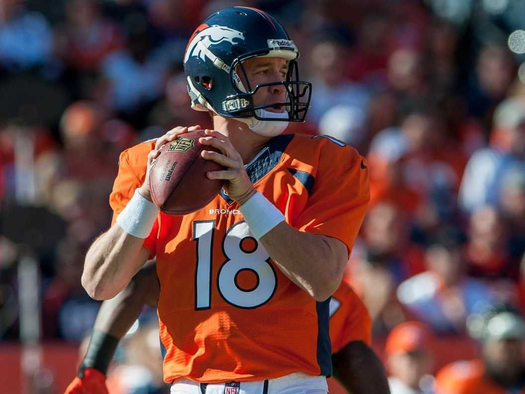 peyton manning denver broncos 2013 quarterback Peyton