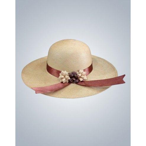 Sombrero de Flores - Hermoso y elegante sombrero de mujer e0939a727dd