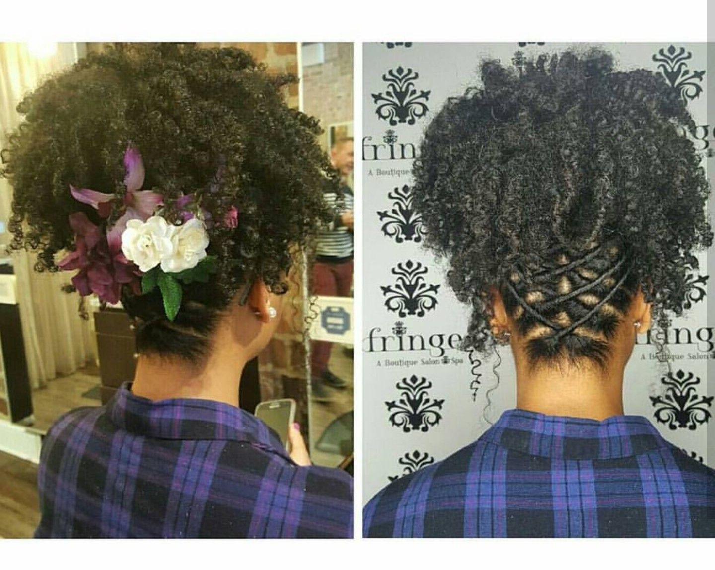 Wedding Style For 3c 4a Natural Curls With Images Curly