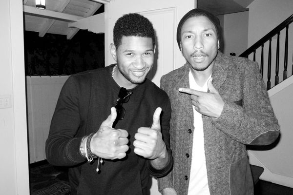 Pharrell Williams & Usher Shoot by Terry Richardson at The Chateau Marmont