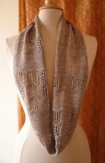 Knitting Pattern For Shallows Cowl Or Scarf Ad Easy Lace Cowl Or