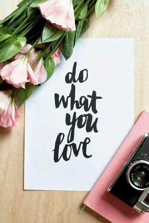 You love