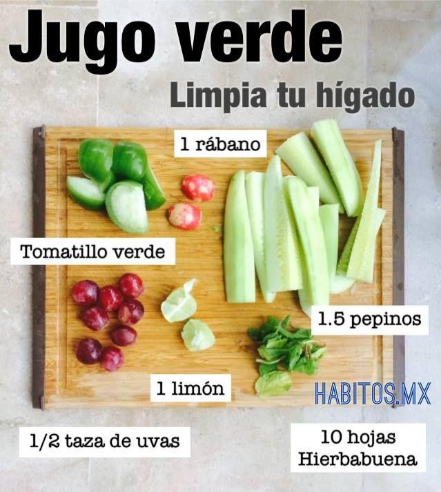 Dieta vegetariana para limpiar el higado