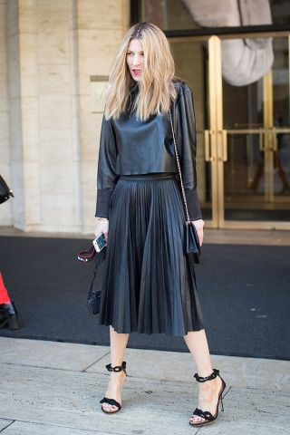 "<strong>Adi Heyman</strong> <em>Stylist and Blogger </em> <a href=""http://fabologie.com%20"" target=""_blank"">www.fabologie.com </a> Outfit: BCBG Shoes: Balenciaga"