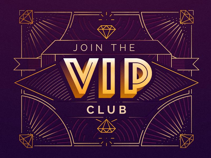 The Vip Club Vip Card Vip Logo Club
