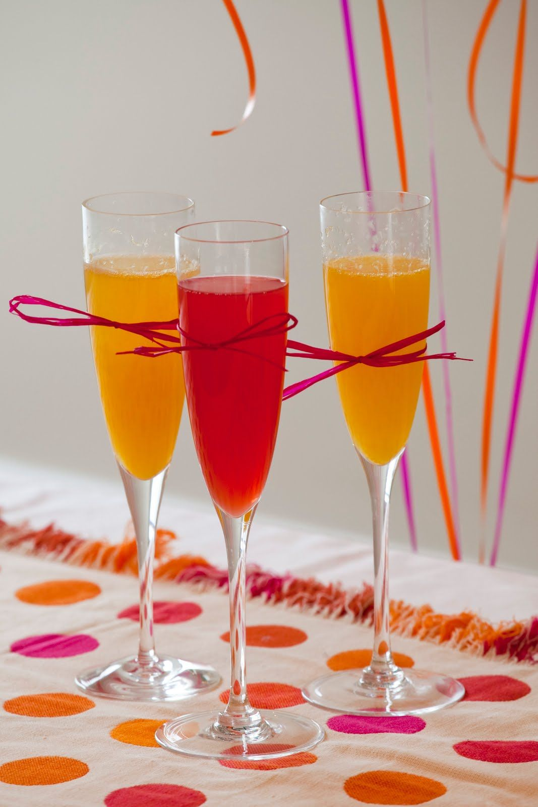 hot pink  and orange wedding shower decorations | ... Special Events Blog - San Francisco Wedding & Event Planner: July 2010