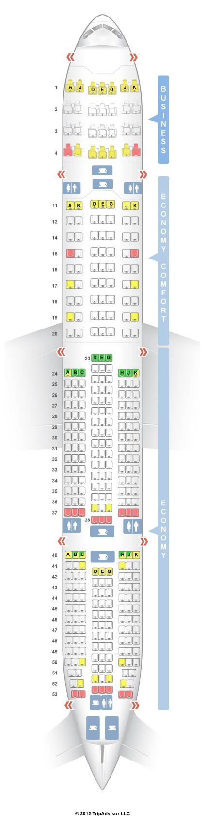 Seatguru seat map turkish airlines boeing er   also rh pinterest