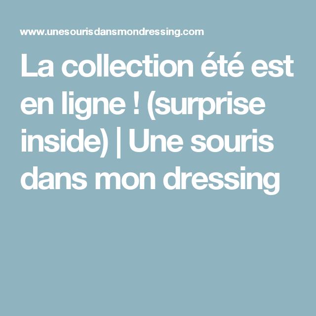 La collection été est en ligne ! (surprise inside)   Une souris dans mon dressing