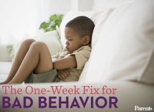 The One Week Fix For Bad Behavior! Here is an awesome video on disciplining your kids and a one week fix for bad behavior. #badbehaviorfix #fixbadbehavior #parentingtips