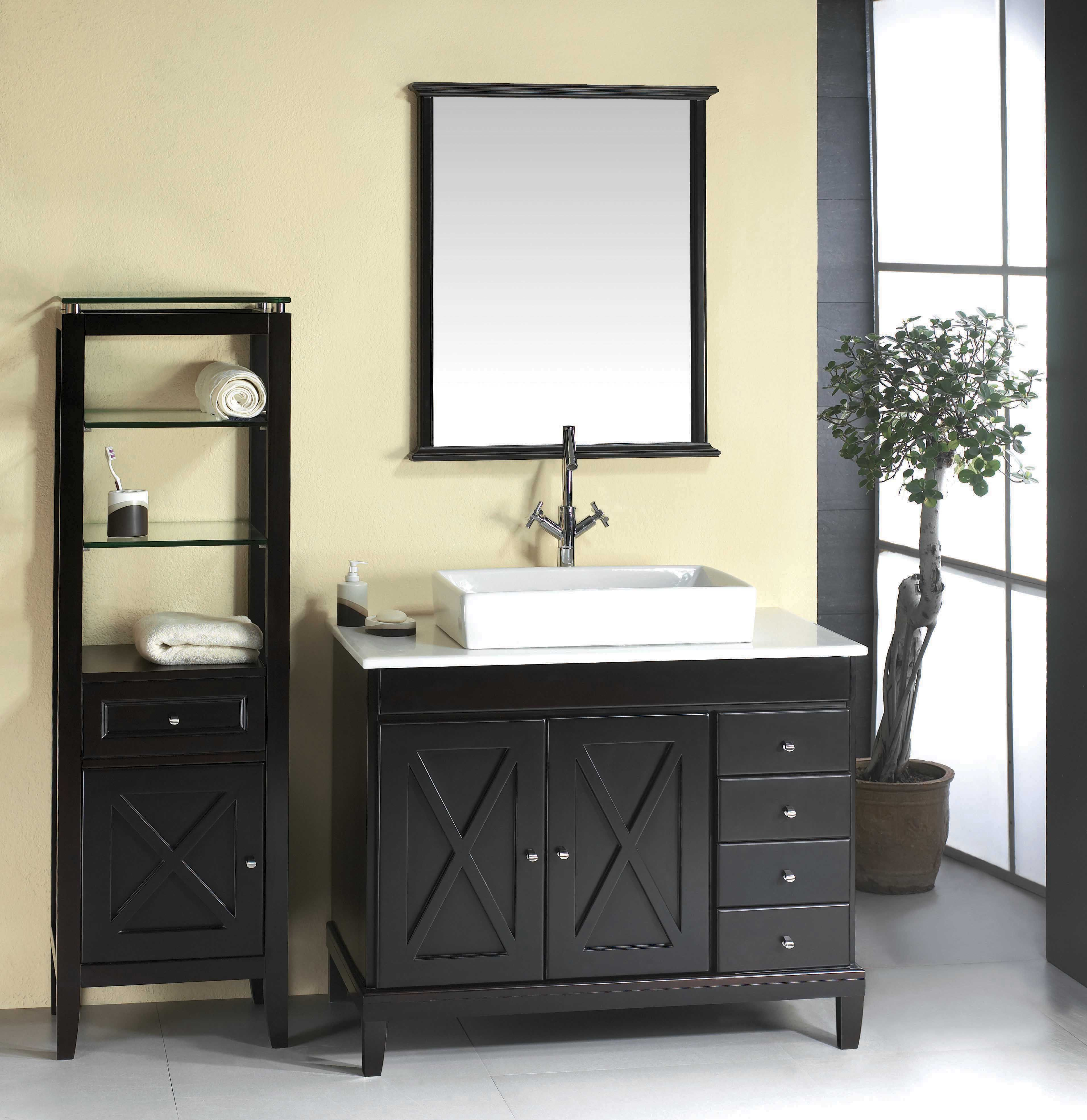 Best The Barcelona 40 Vanity Features Hardwood Furniture With 400 x 300
