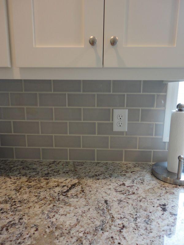 Grey Subway Tile, Ornamental Giallo Light Granite, McBroom Contracting, MN  763-238 - Grey Subway Tile, Ornamental Giallo Light Granite, McBroom