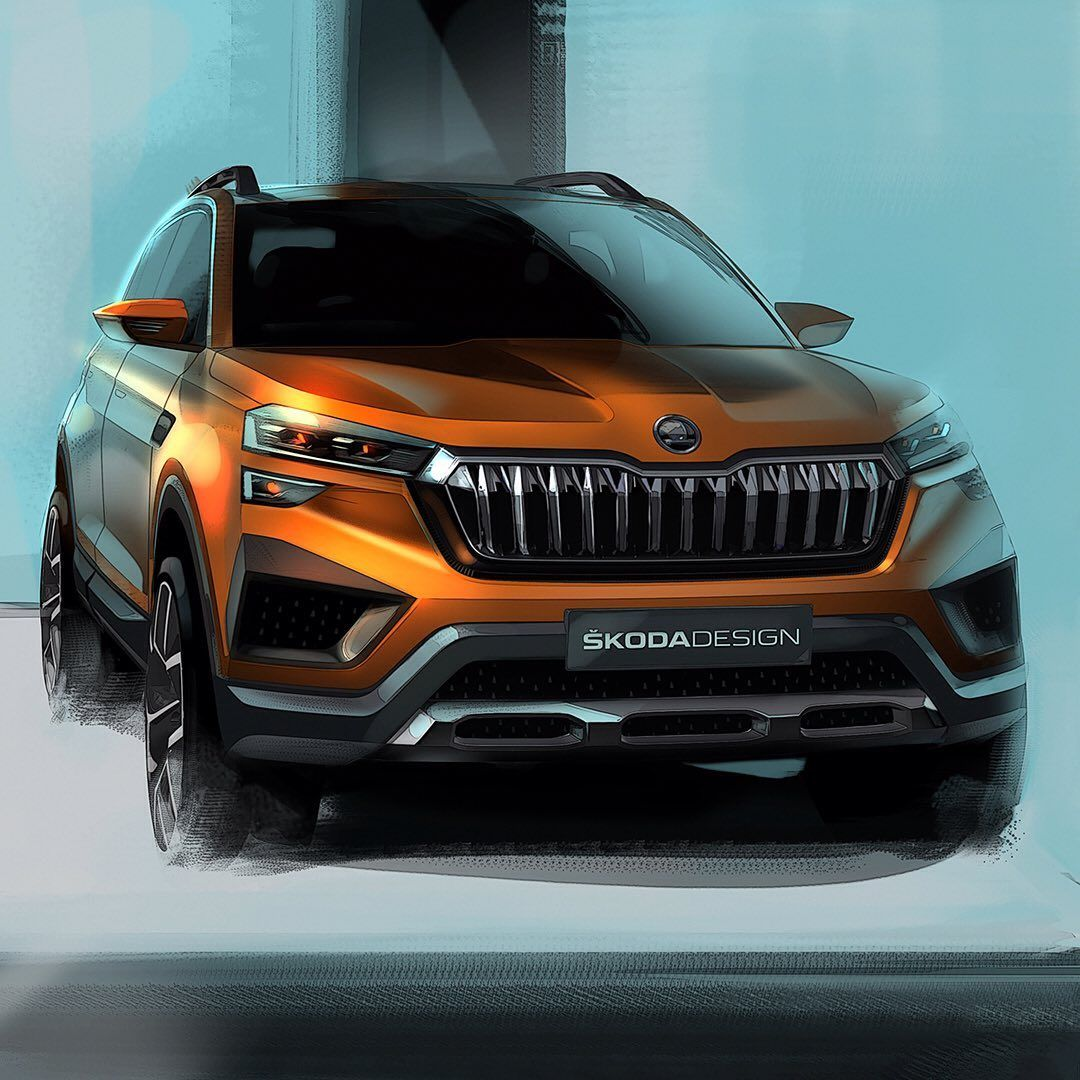Car Design World On Instagram Skoda Vision In Concept Official Sketches By Benjamin Garbas Bgarbas And Matej Toni Compa In 2020 Car Design Best Suv Cars Compact Suv