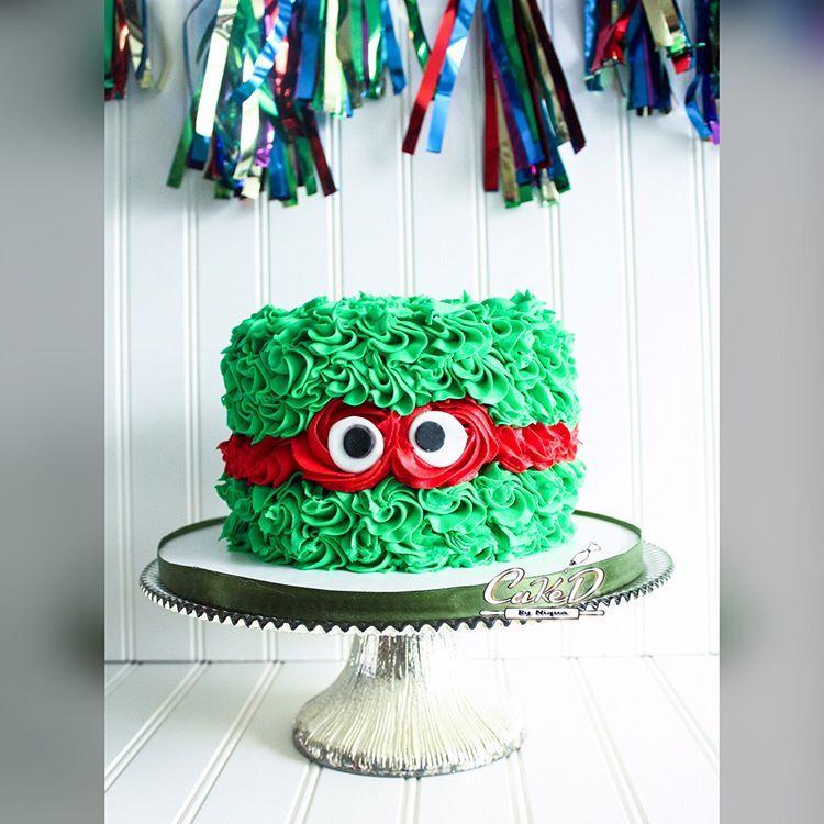 1st Birthday Ninja Turtle Cake And Smash Cake Ninja Turtle Cake Turtle Cake Ninja Turtles Birthday Party