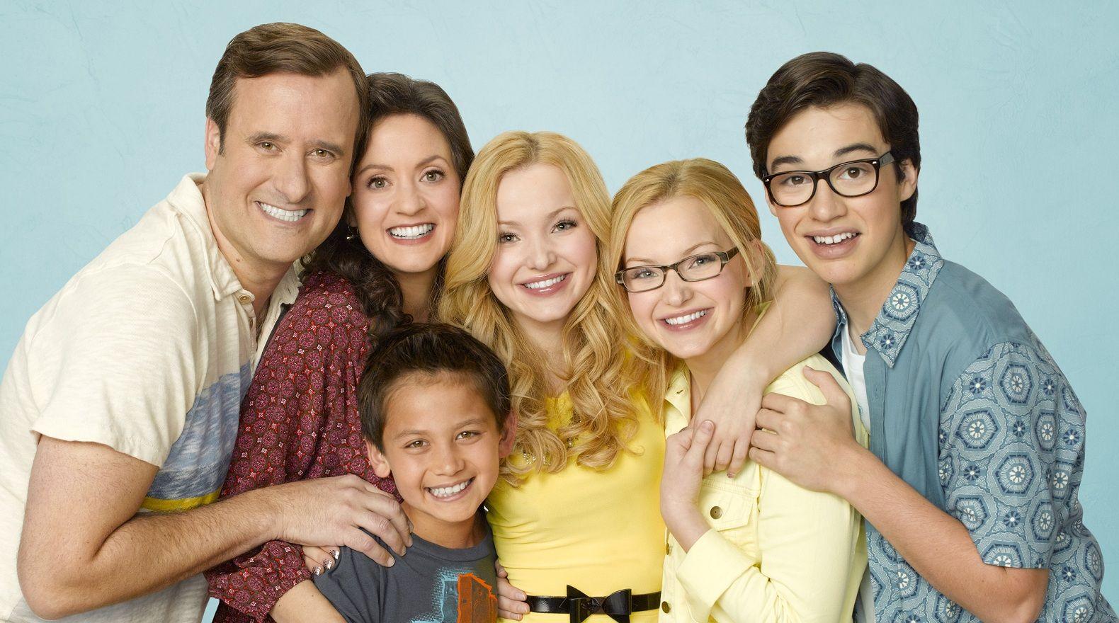 """Cast of """"Liv & Maddie""""."""