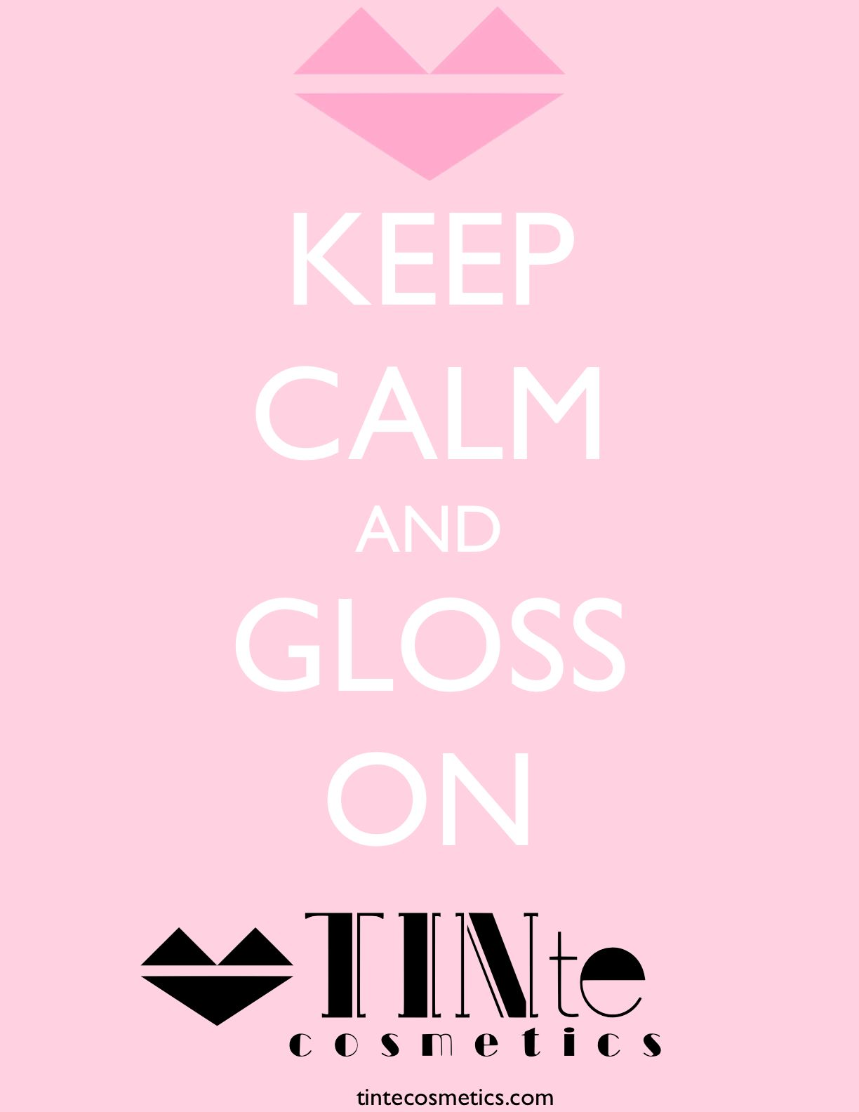 Keep Calm & Gloss on with our #flavoredlipgloss #vintageslidertins #vintagelipbalm www.tintecosmetics.com
