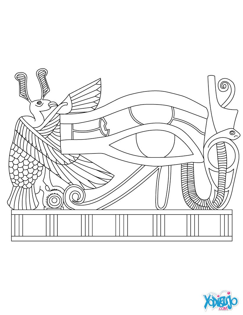 dibujos egipcios para colorear buscar con google