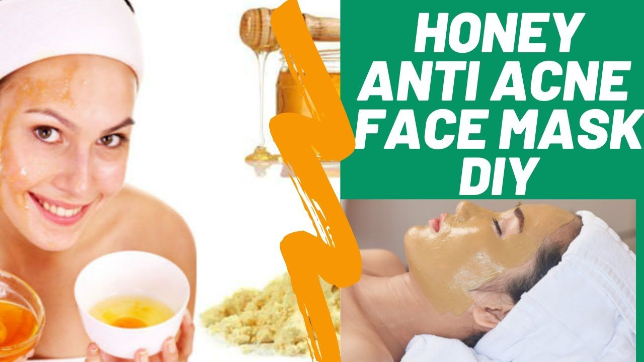 Diy homemade anti acne face mask with honey fullers