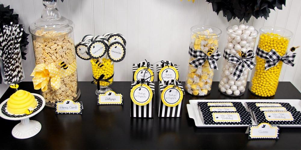 DIY Bumblebee Party Supplies   Kids Party Supplies