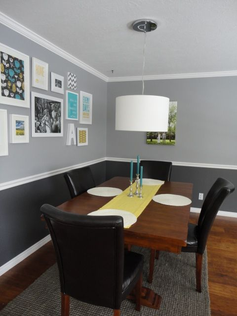 366 85 91 Run Knit Hitched Dining Room Paint Colors Grey Walls Living Room Dining Room Walls