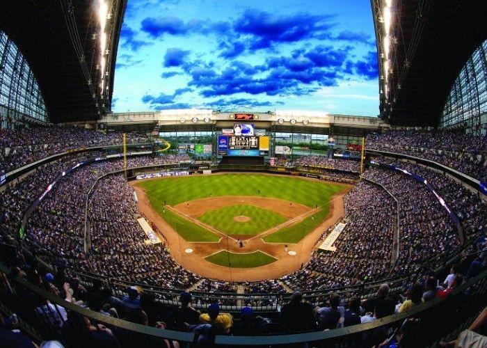 Miller Park Travel Wisconsin Best Baseball Stadiums Baseball Stadium Baseball Park